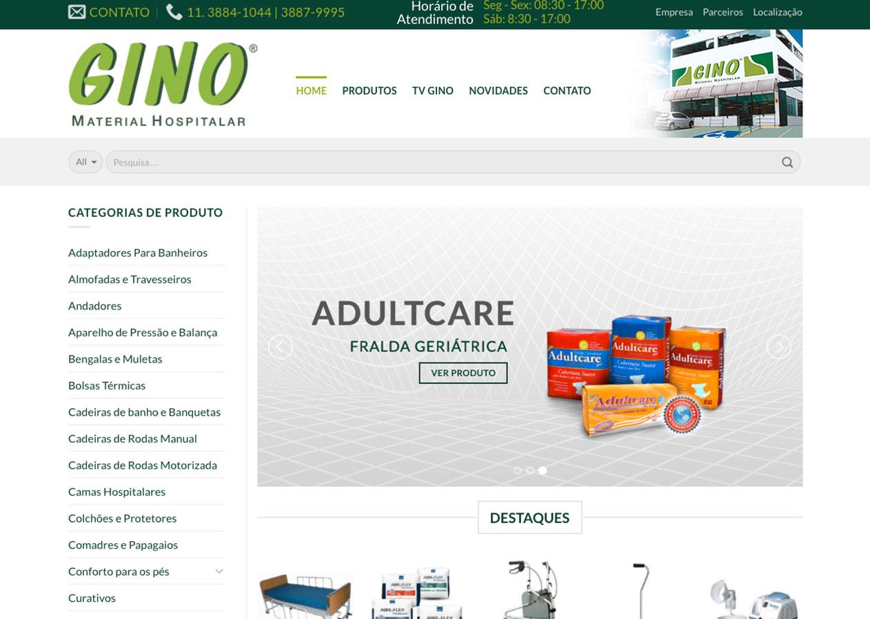 Gino - Material Médico Hospitalar