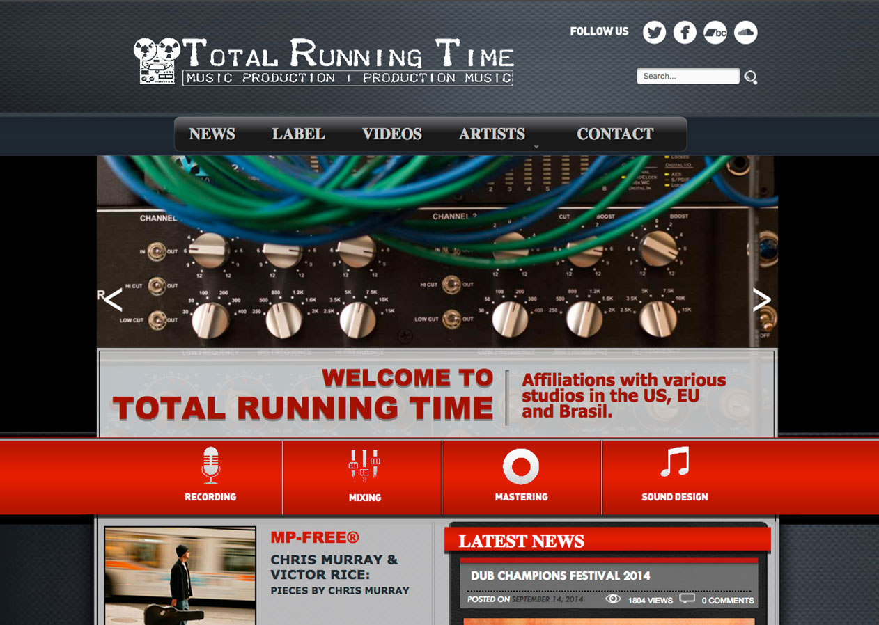 Total Running time
