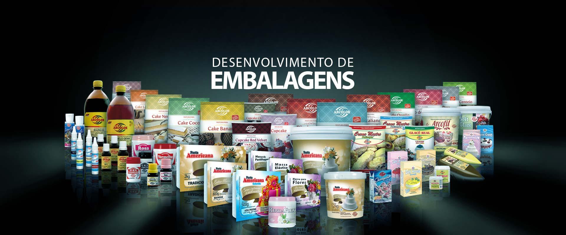 Desenvolvimento de Embalagens